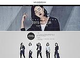 全职美工 Lehnoor欧美中性女装极简个性原创工艺首页设计